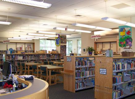The Lower School Library boasts a fine collection for research or reading for pleasure.