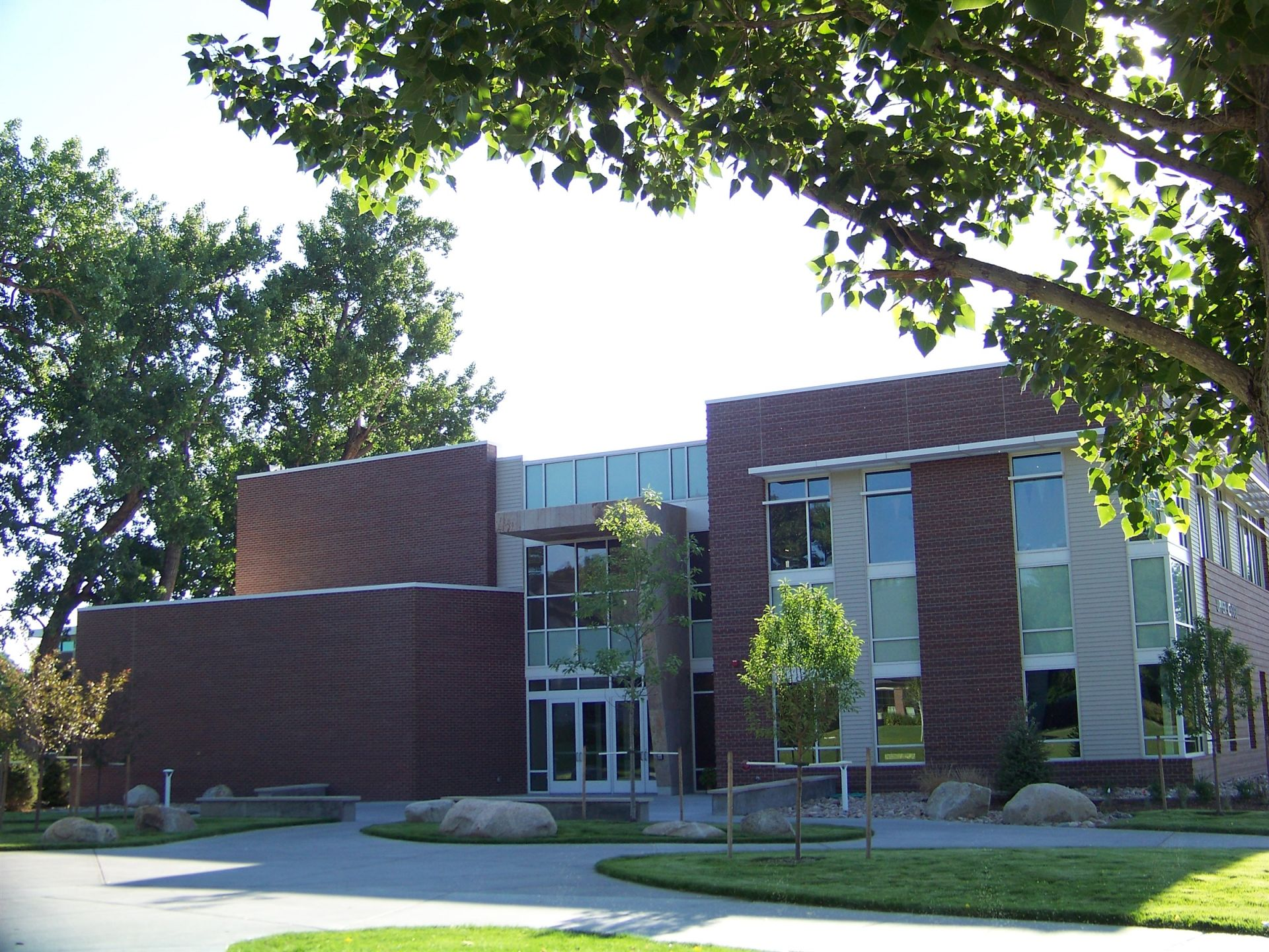 The Upper School building was presented to the Colorado Academy Community on January 7, 2013, after a whirlwind fundraising campaign and construction schedule.