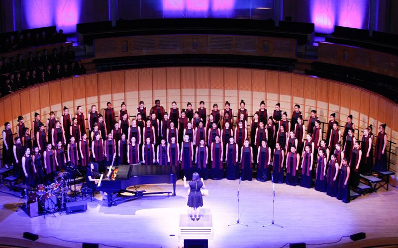 Professionalism is a hallmark of our choral program, which is significantly aided year to year by our Annual Fund.