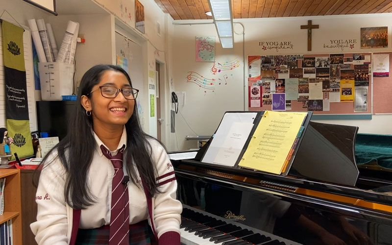 Daveena talks about the richness of being a part of our Choral Music (choir) program