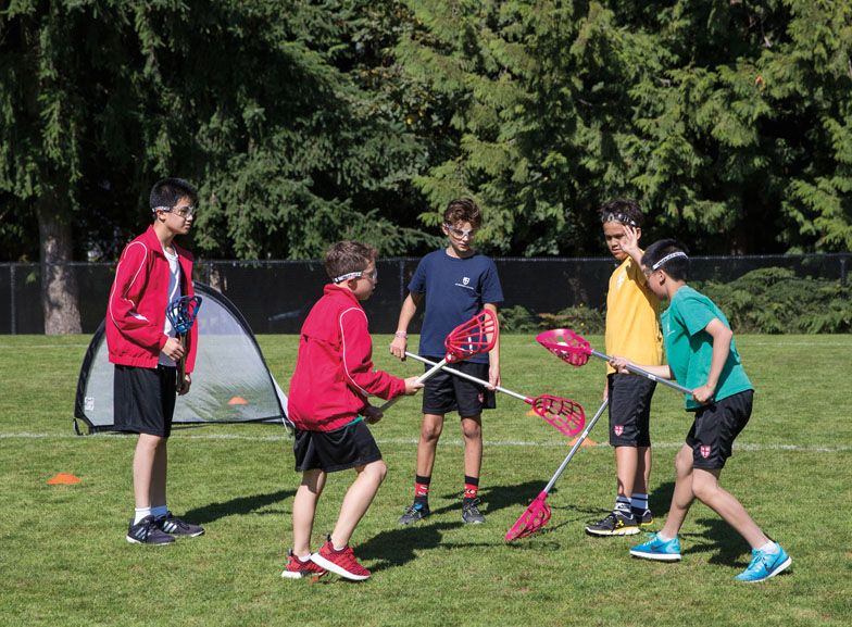 Expanded Junior School Athletics program - Lacrosse (Funded by the 2016-17 Annual Fund)