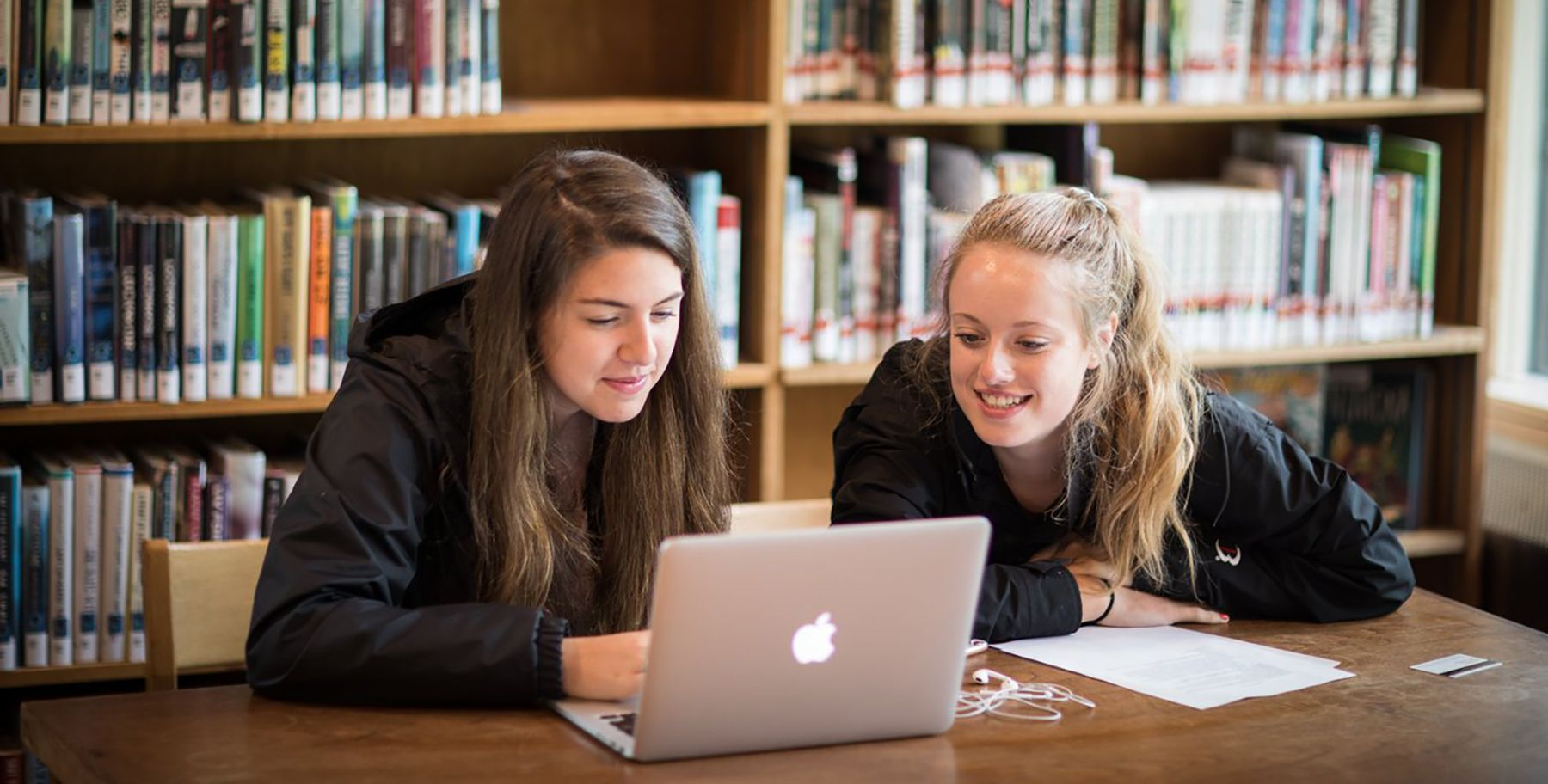 Tabor students studying in Hayden Library