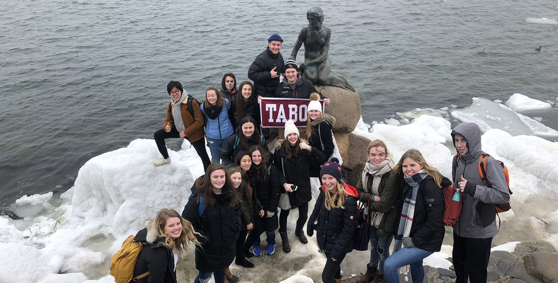Tabor students in Copenhagen