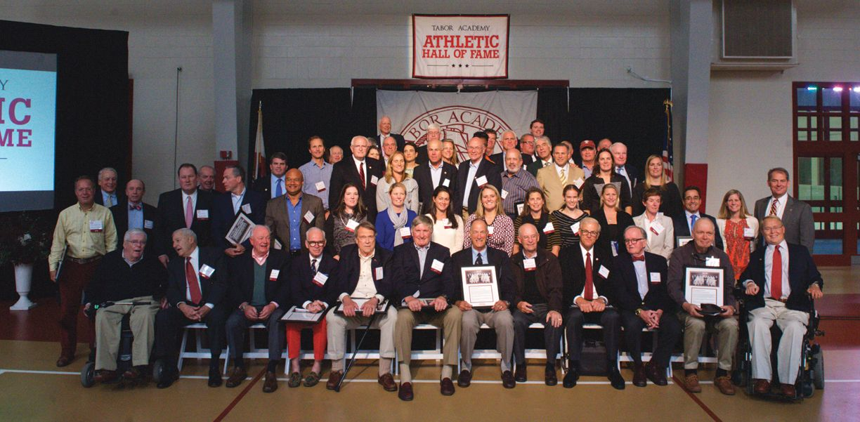 Tabor Academy Athletic Hall of Fame Inaugural Class of 2016