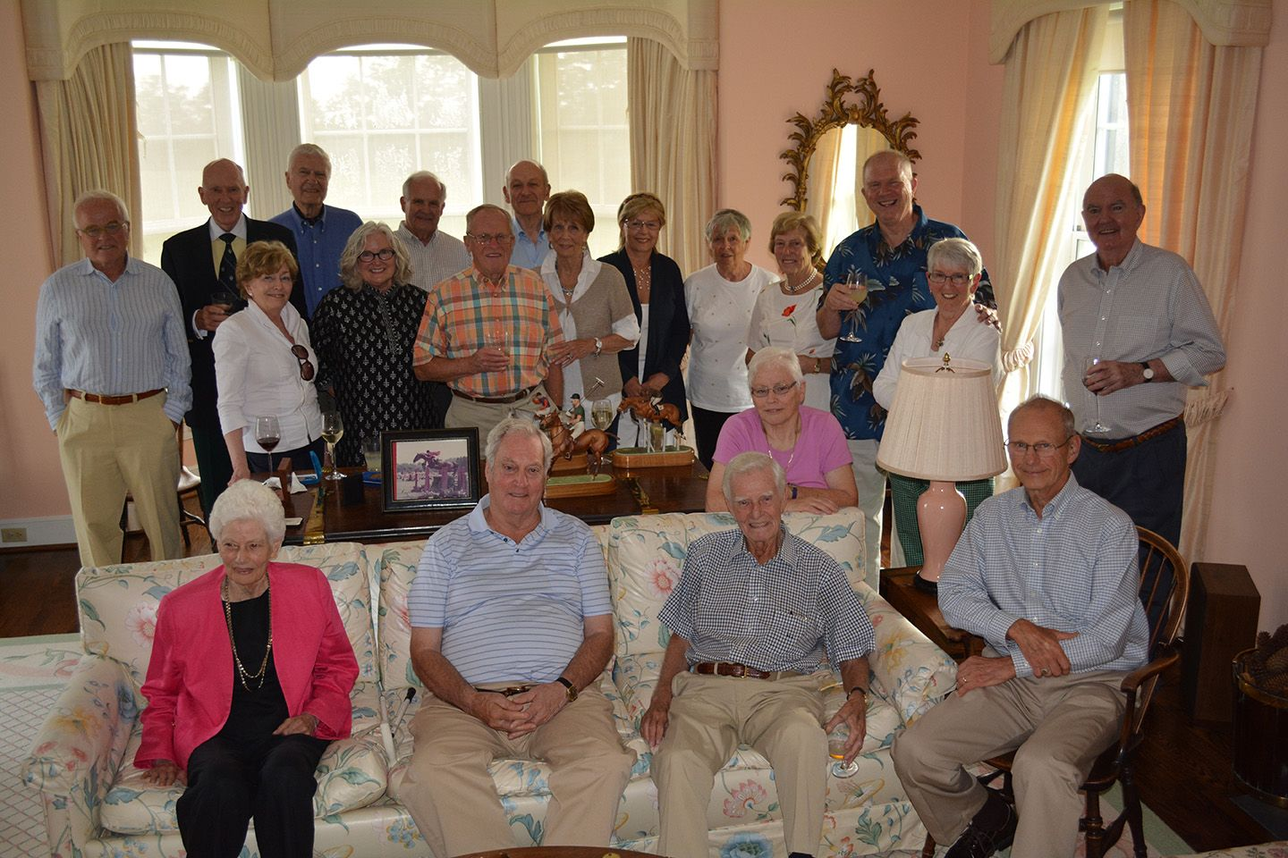 Founding families gather at home of Moffat Dunlap, June 2014