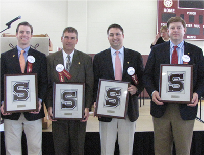 Peter S. Janney '96, Julian A. Domenech Jr '84, Scott H. Chapin '82, and Bradley W. Fowler '93