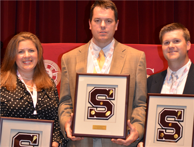 Julie C. Tice '96, Joseph K. Salsich '00, and Michael W. Phipps '03