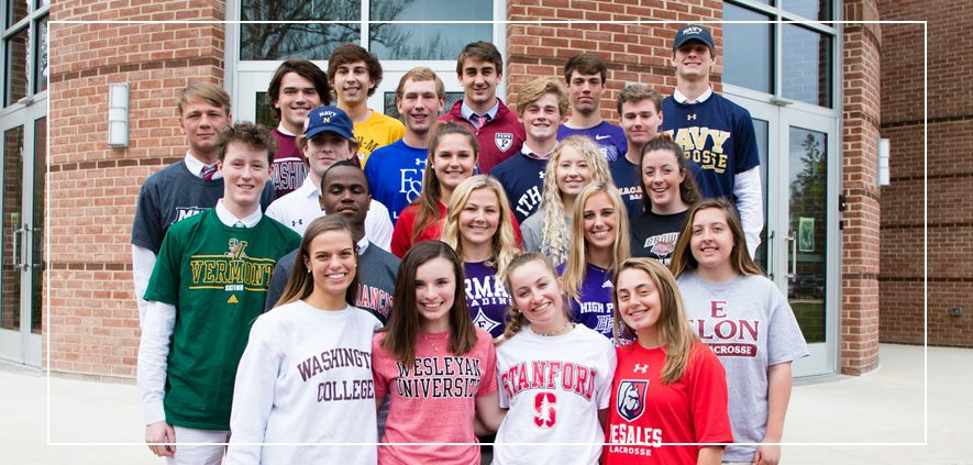 Class of 2019 Admiral Athletes in College