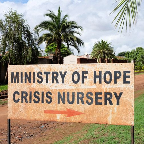 Crisis Nursery at Ministry for Hope Malawi