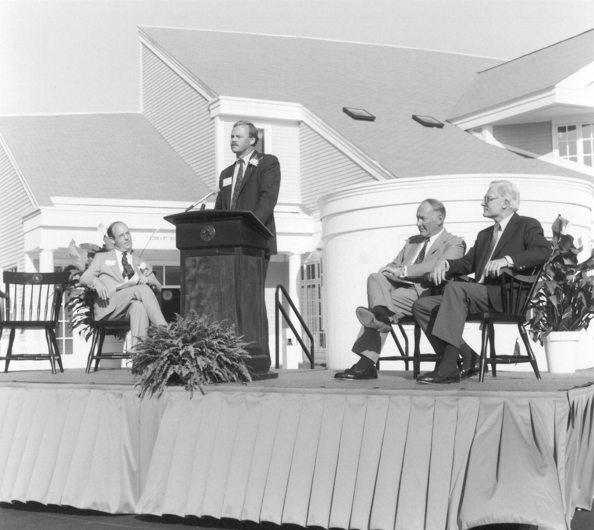 Dedication of the Walsh Center, 1992