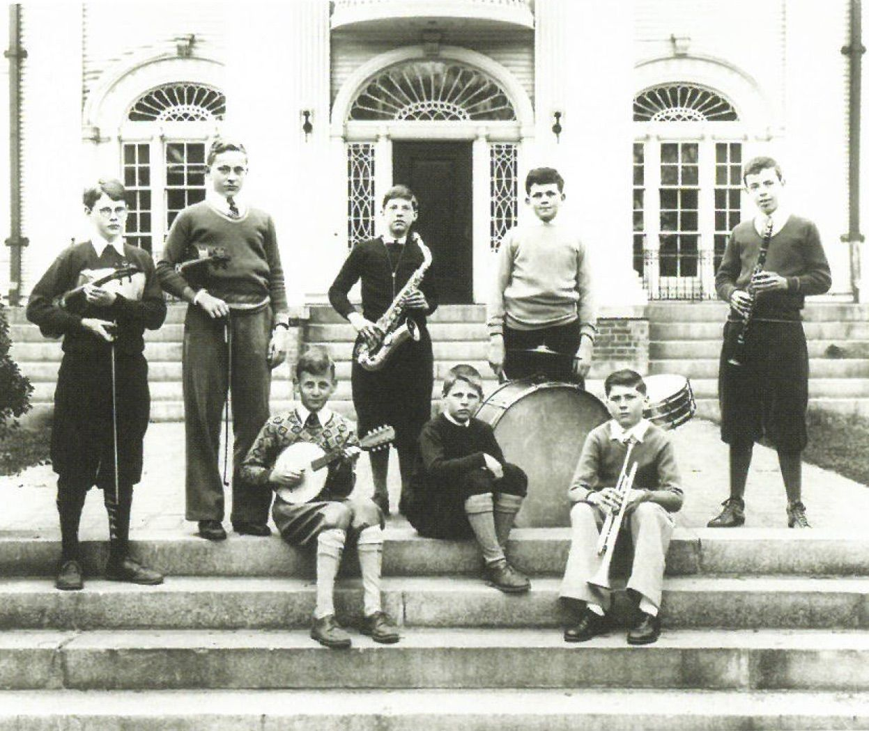 Shore students, late 1930s