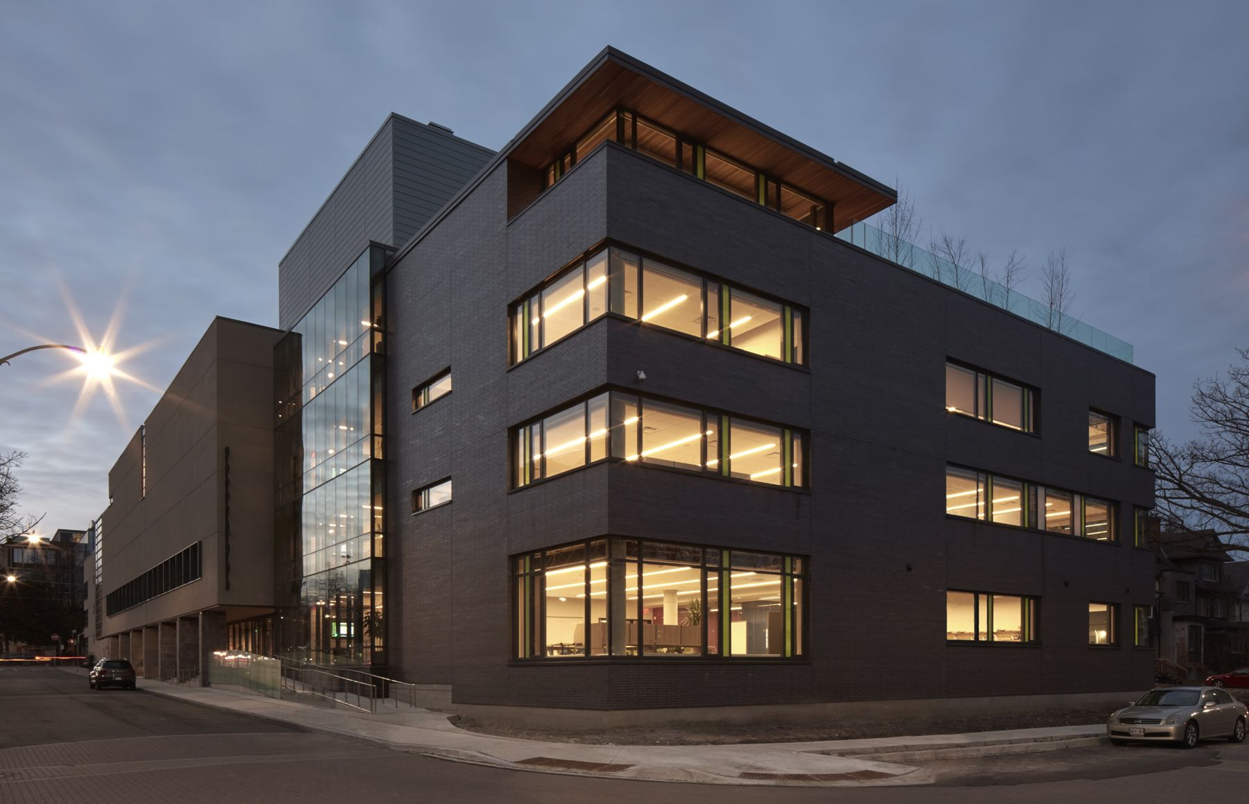 Greenwood's expanded campus is one of the most advanced among Canadian independent schools.