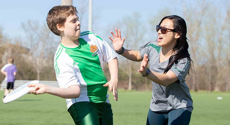 Our dedicated coaches work with students to build skills and foster a love of the game.