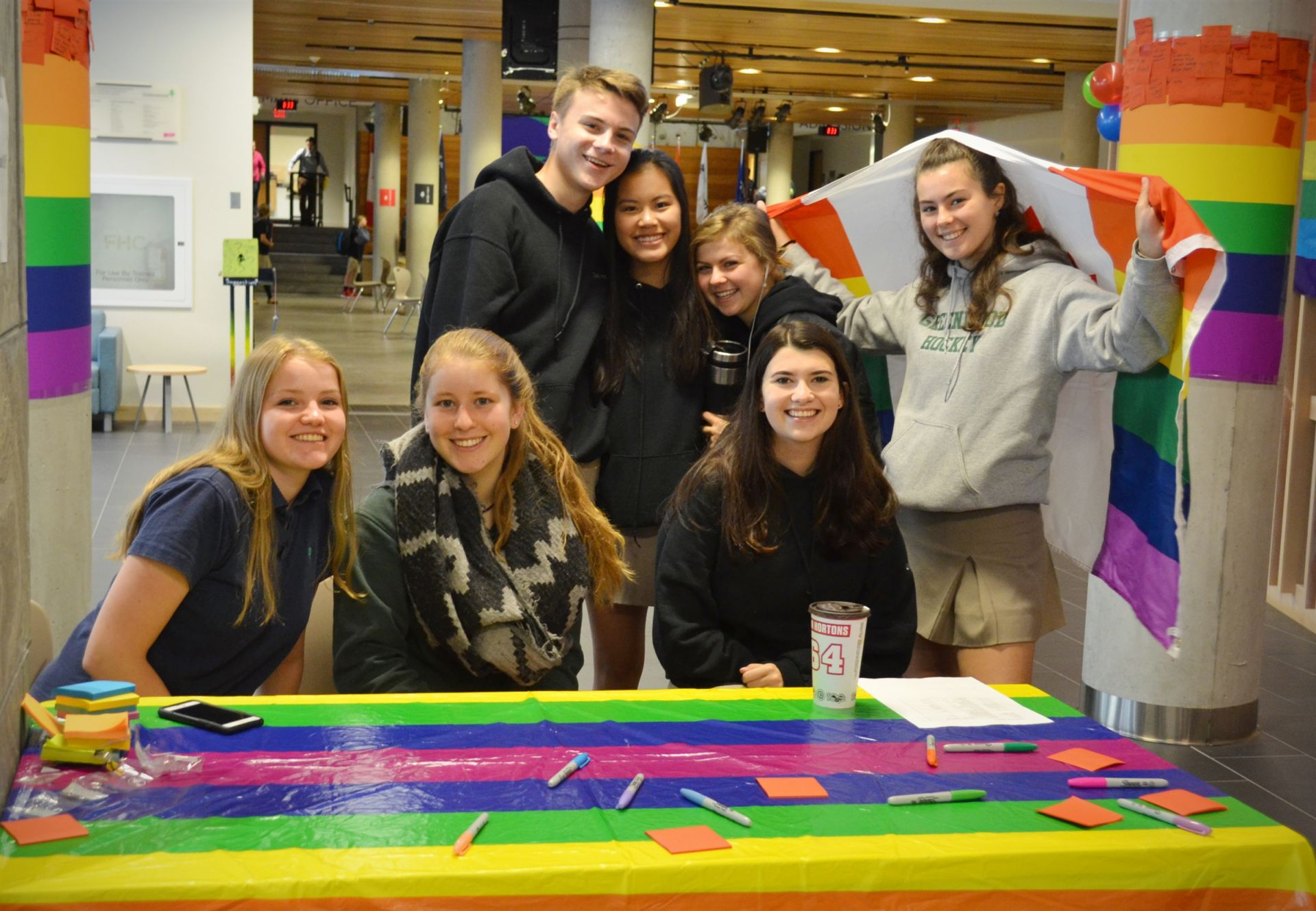 Our Diversity Committee is just one example of the many student-led groups and clubs at Greenwood.