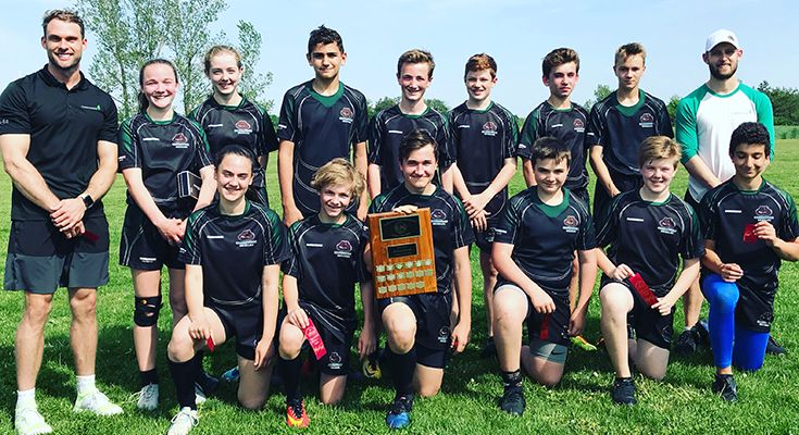 Our U14 Touch Rugby team took home the CISAA championship in 2017-2018.