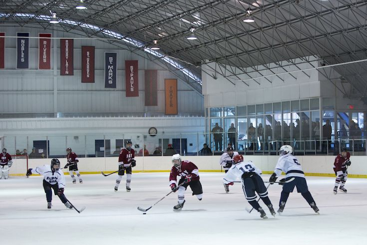 Fay's hockey teams practice at New England Sports Center and Northstar Youth Forum. We host our  annual tournament at Gardner Rink at St. Mark's School.