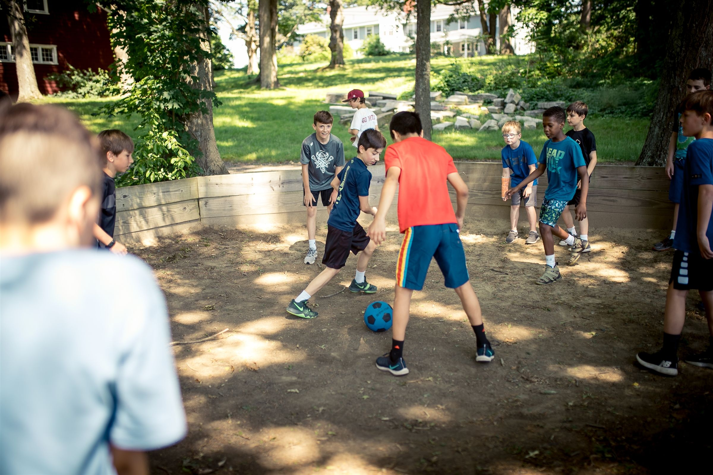 Every play Gaga Ball? Ask any FaySummer camper, and he or she will tell you that the spirited gaga tournaments in our custom gaga court are a highlight of the summer.
