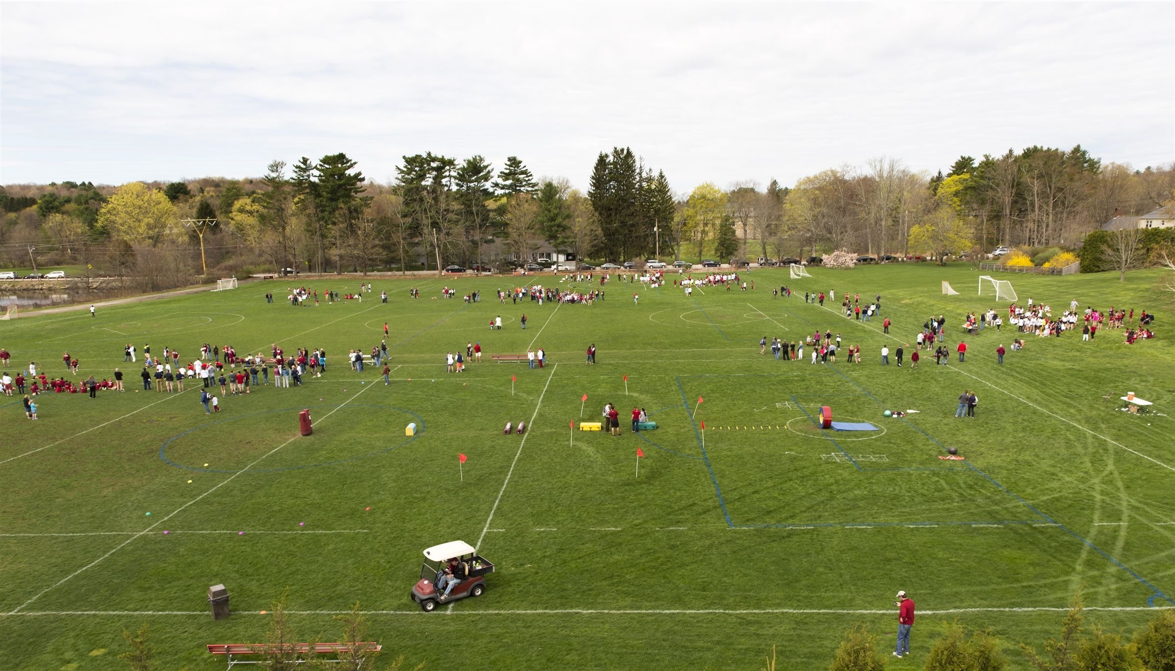 The Parkerville Fields, located on our main campus, include Ting Field, Sharp Field, and Robinson- O'Rourke Field.