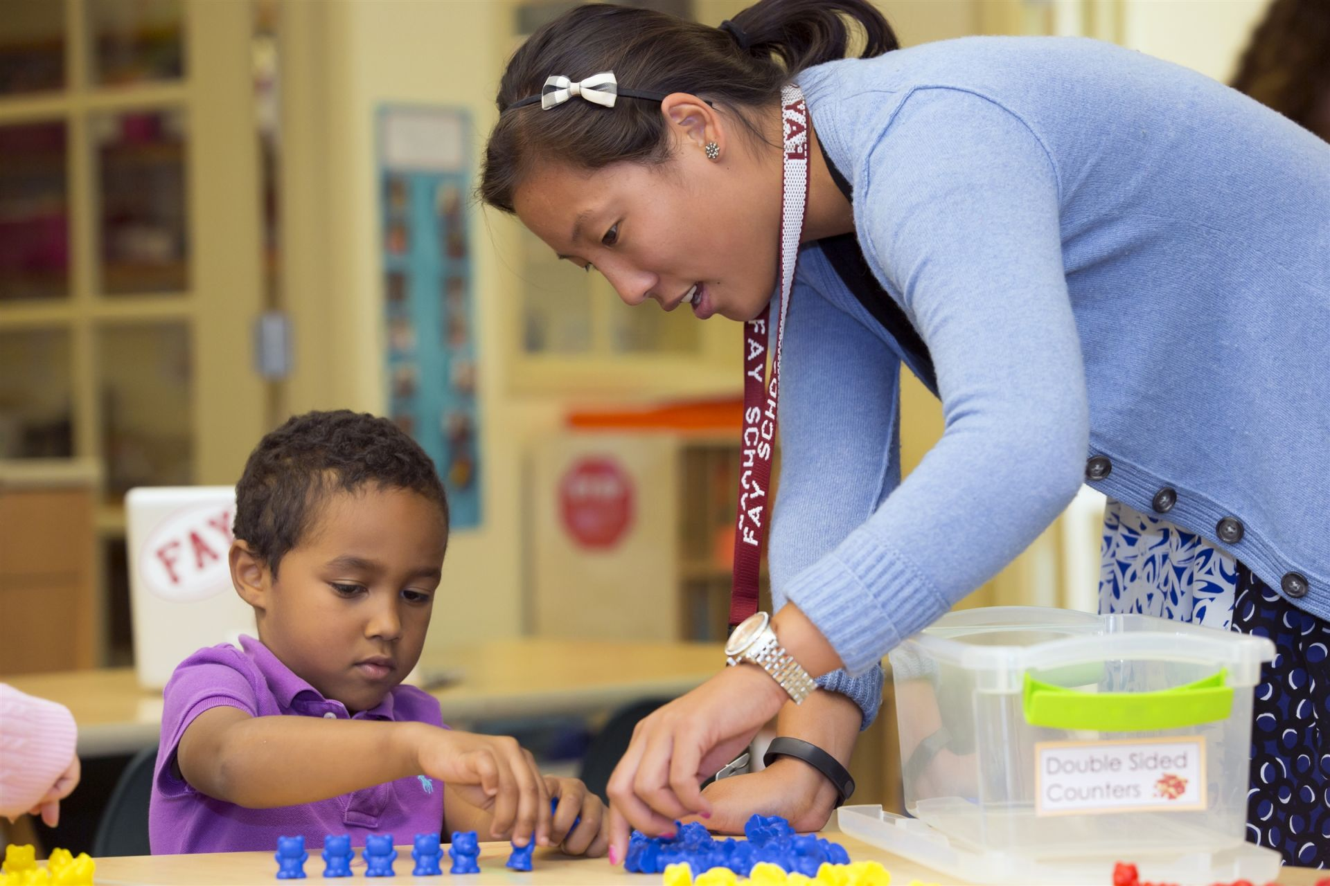 Math in the Primary School is hands-on, and our curriculum focuses on skill building, problem solving, and connecting math concepts to the real world. Teachers place special emphasis on helping students to express their mathematical understanding both verbally and in writing.