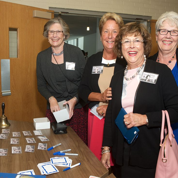 Alumnae Weekend at Holy Names is always filled with friendship and fun! Class  Connectors can be instrumental in spreading the word about upcoming events.