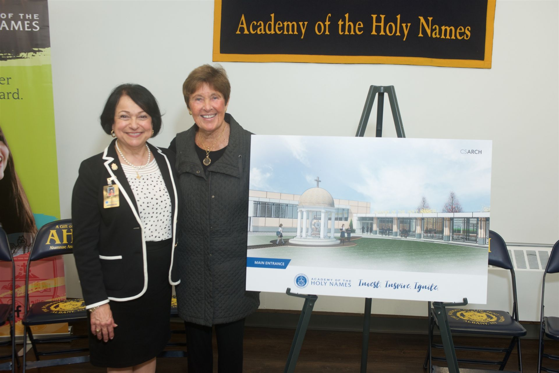 Ms. Vigliante with Honorary Co-Chair, Mary Beth O'Brien