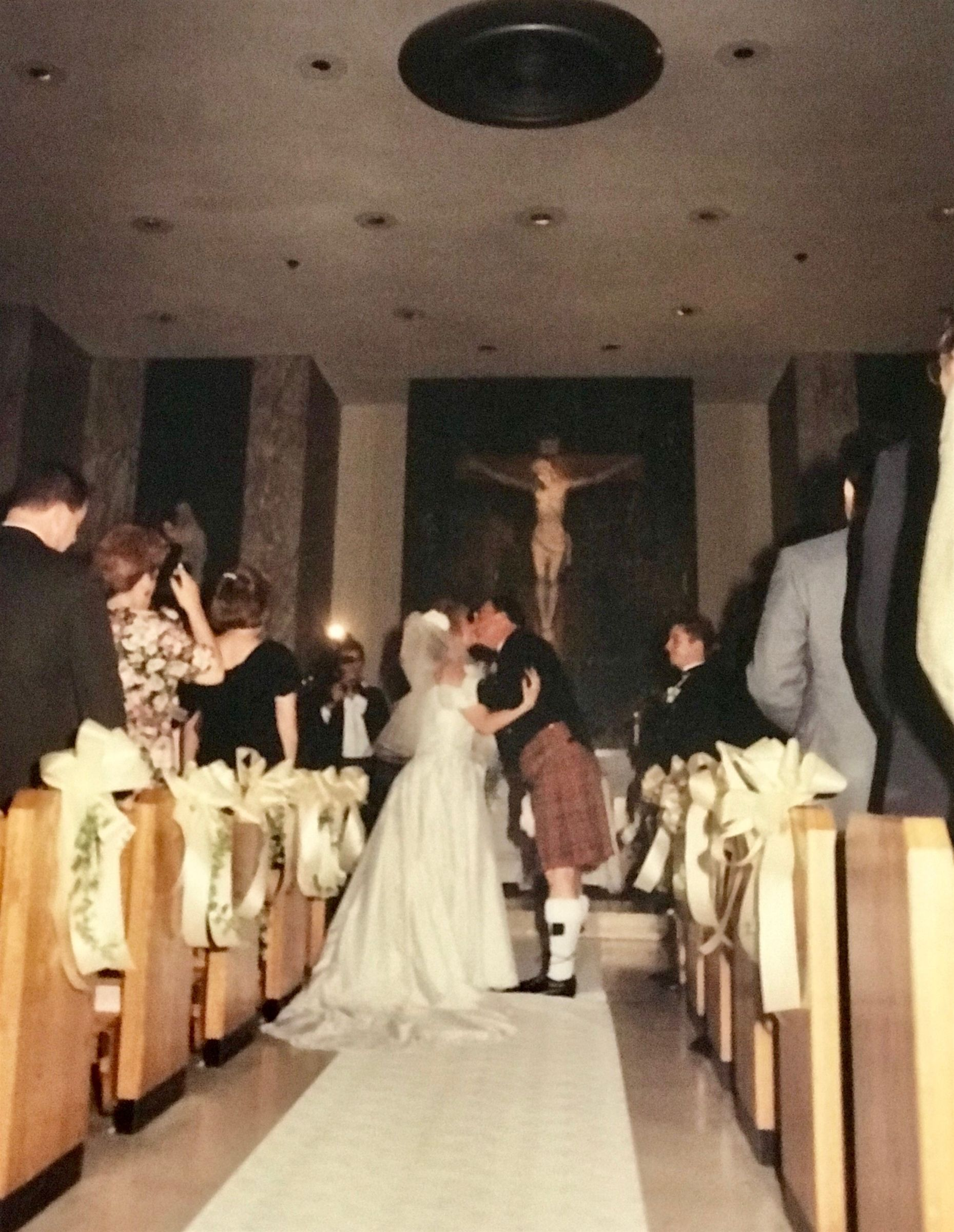 On May 29, 1994 alumna Katherine Munro Bartow '86 was married in St. Joseph's Chapel