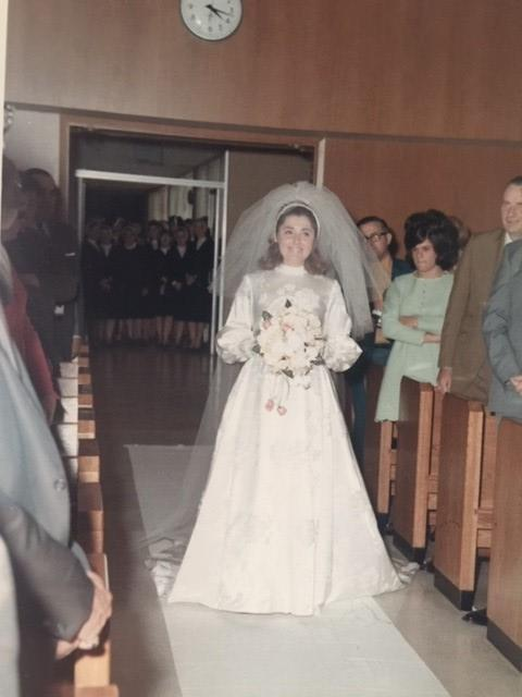 St. Joseph's Chapel, October 12, 1969 - Lynne Nord '64 married Paul Carlson