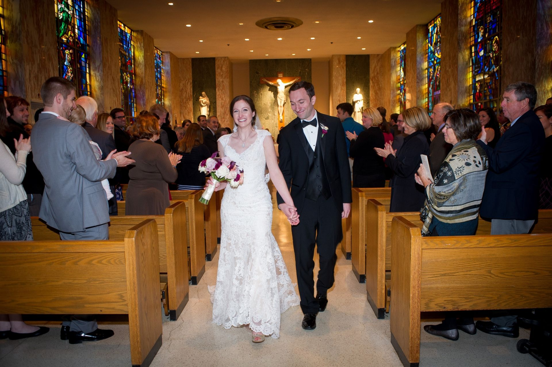 Anne Roberts ('03) & Zachary Russo's Wedding on November 5, 2016.