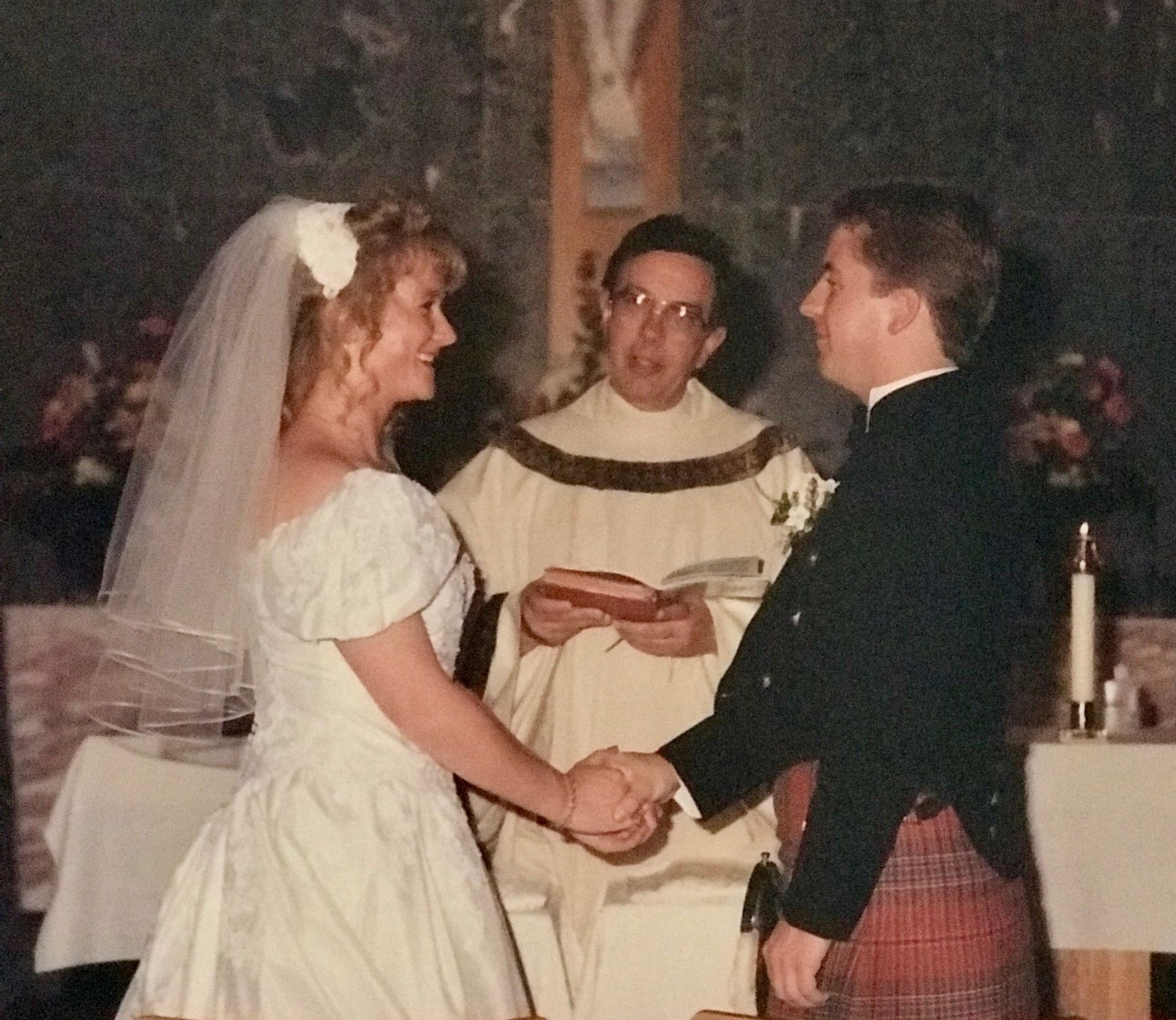 Katherine Munro Bartow 86' Wedding