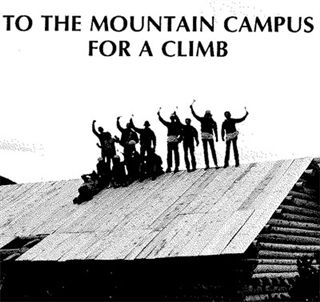 Students celebrate the Mountain Campus in 1981.