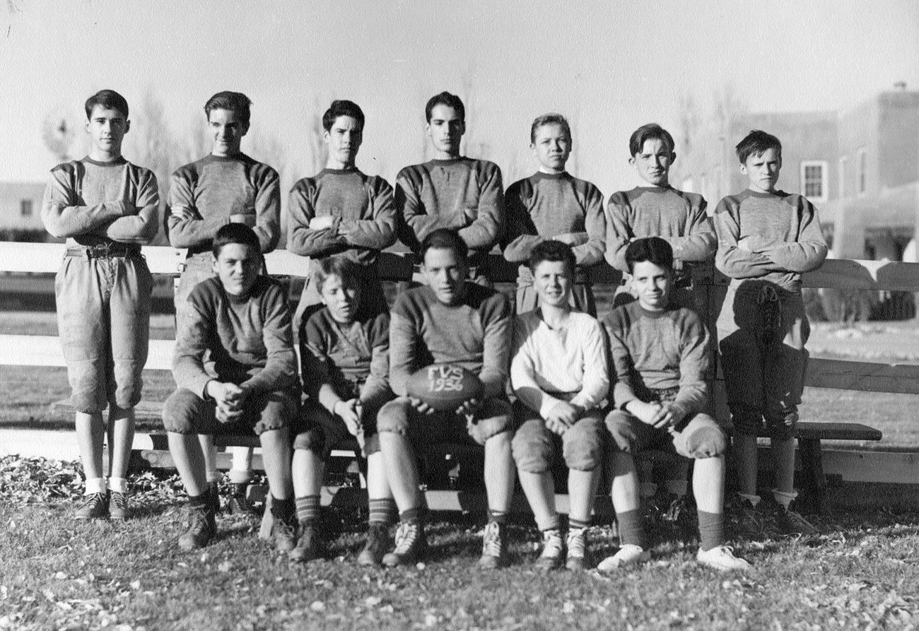 An early FVS football team