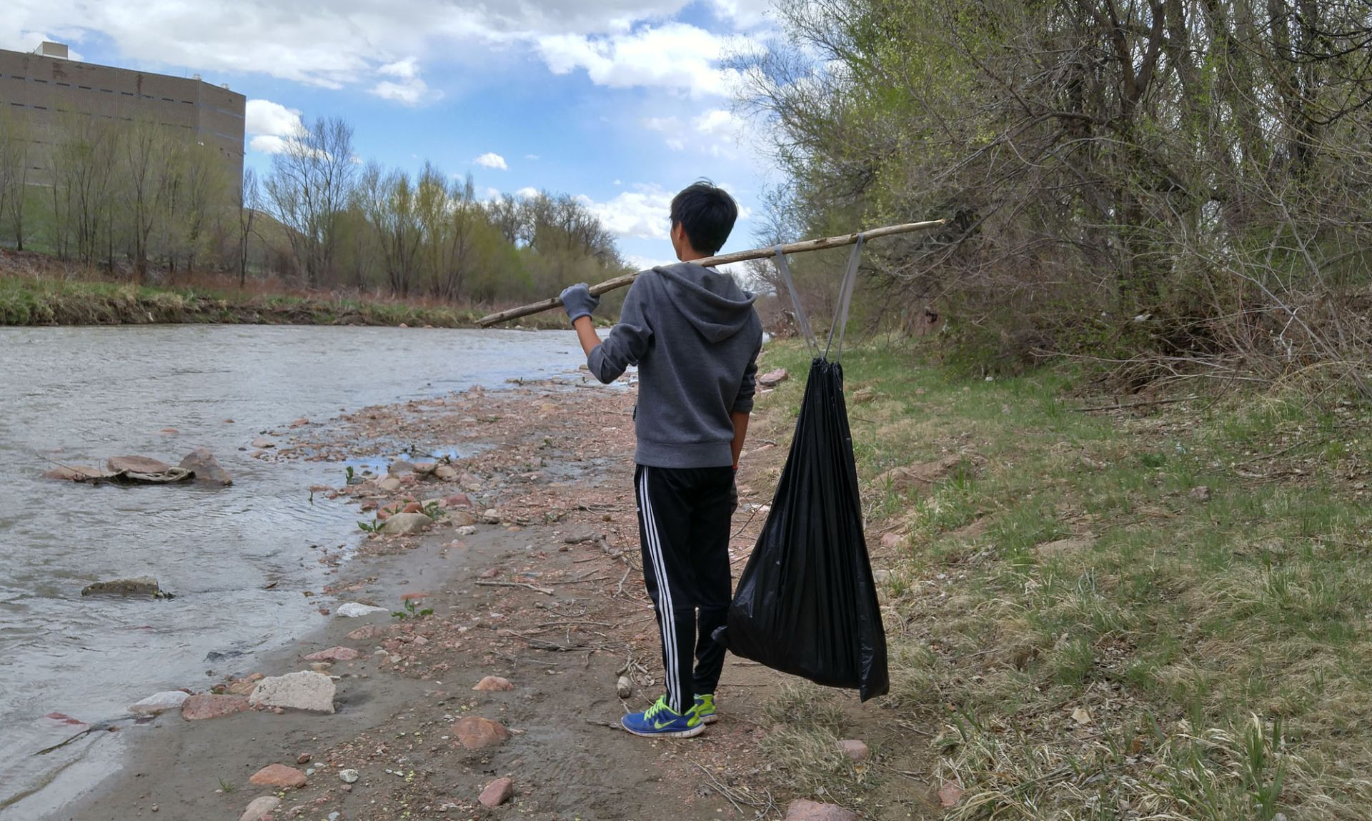 Fountain Creek cleanup