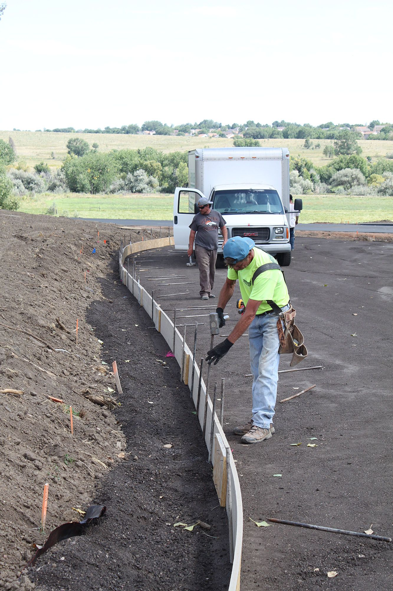 Sept. 14 Progress Photos: Working on the new parking lot behind the Hacienda
