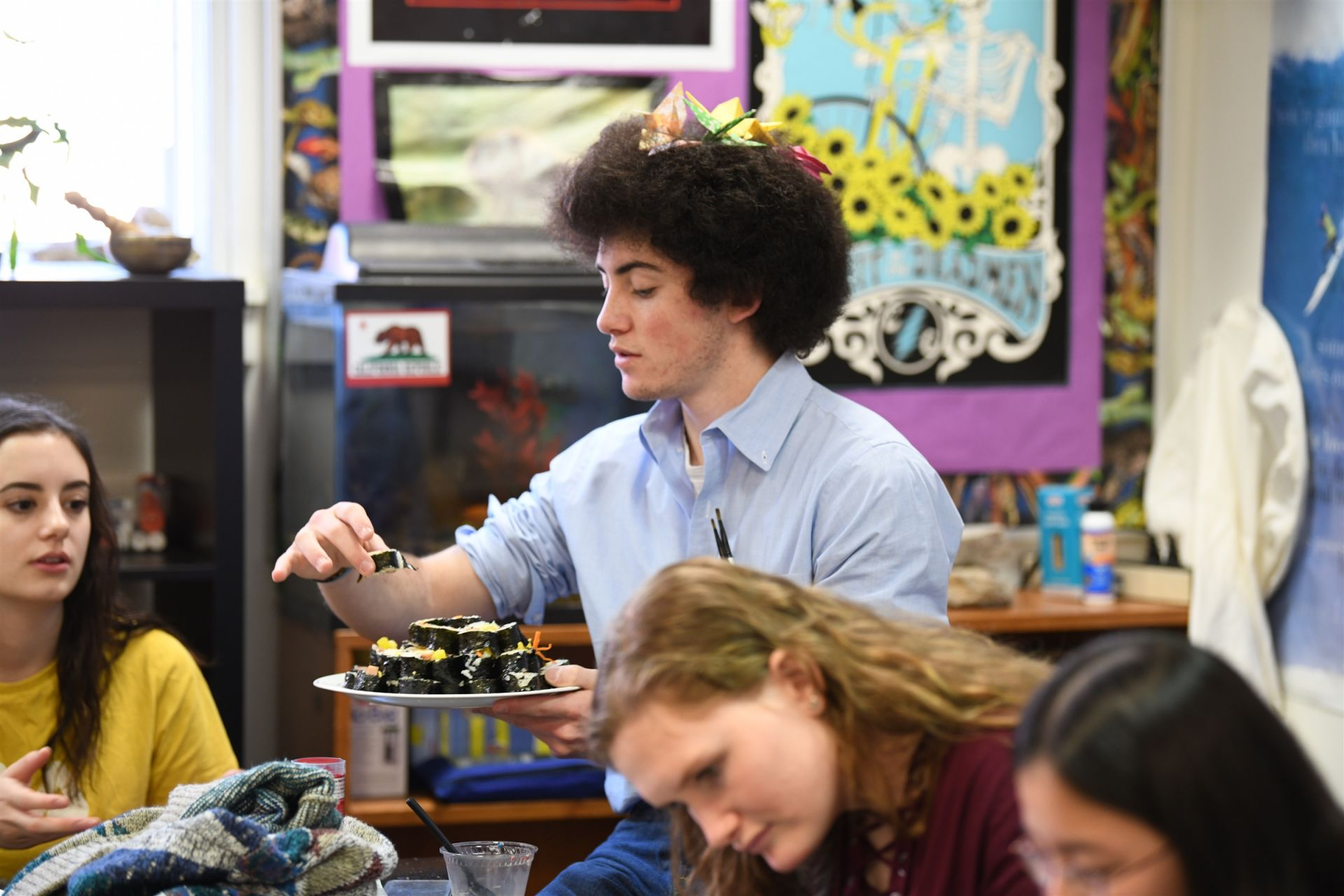 Benji W. '19 dives into some handmade Korean delicacies.
