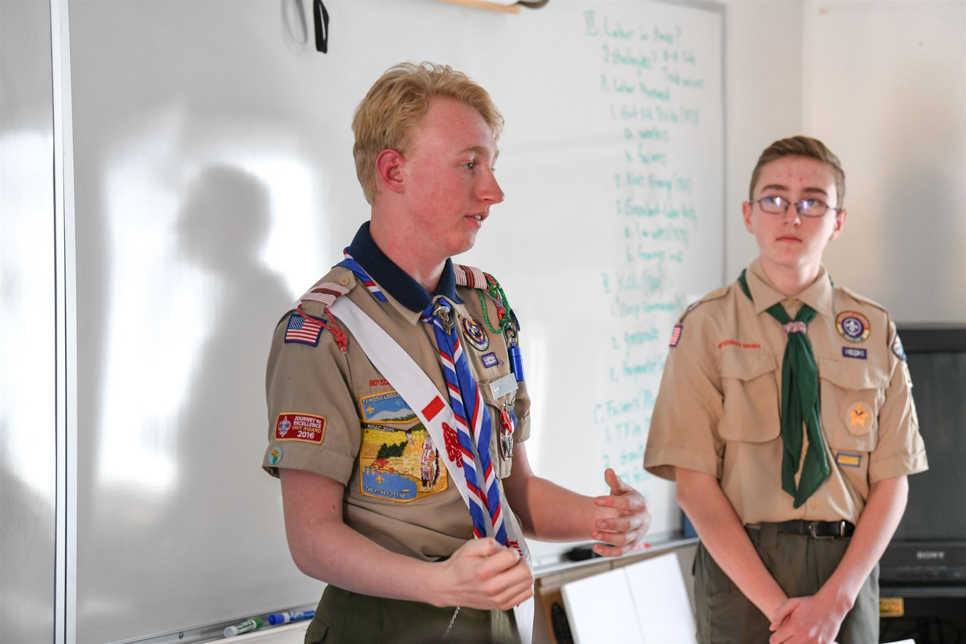 Class: Inclusion in the Boy Scouts of America