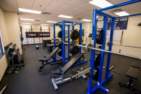 sports performance room