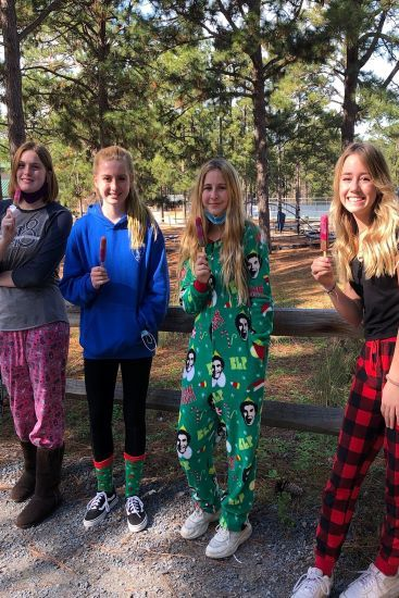 pajama day in the high school