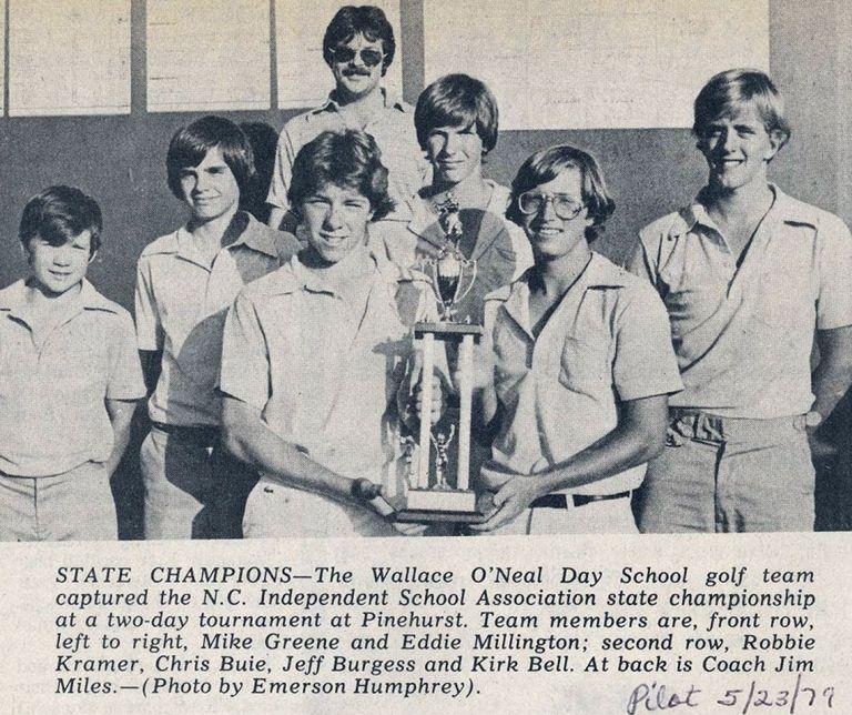Golf State Champions