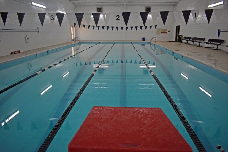 The Aquatics Center at Taws Hall