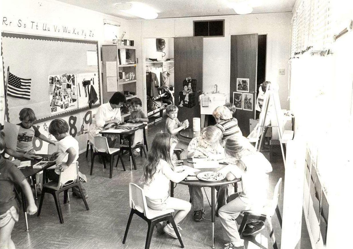 First Kindergarten Class