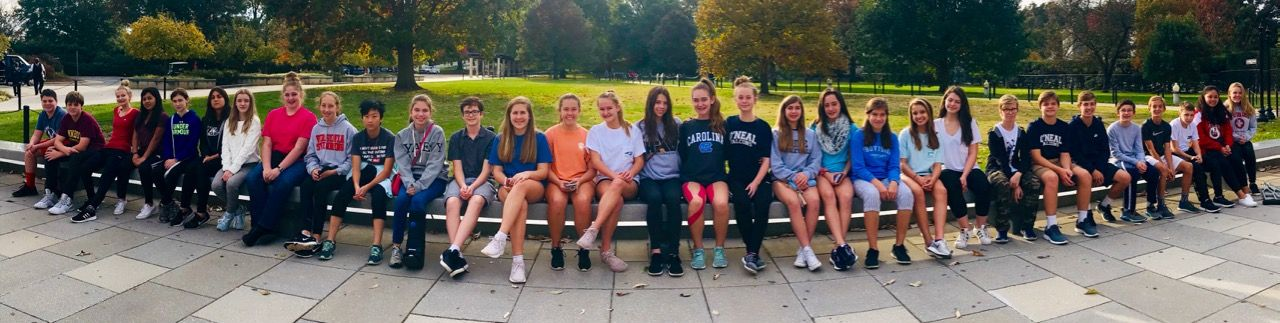 Eighth Grade students travel to Washington DC