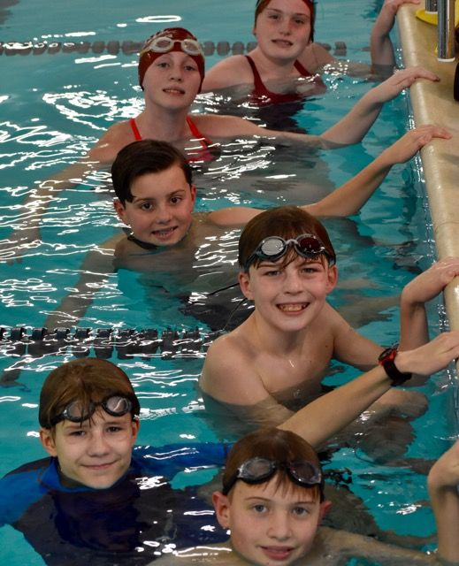 Introducing the first middle school swim team