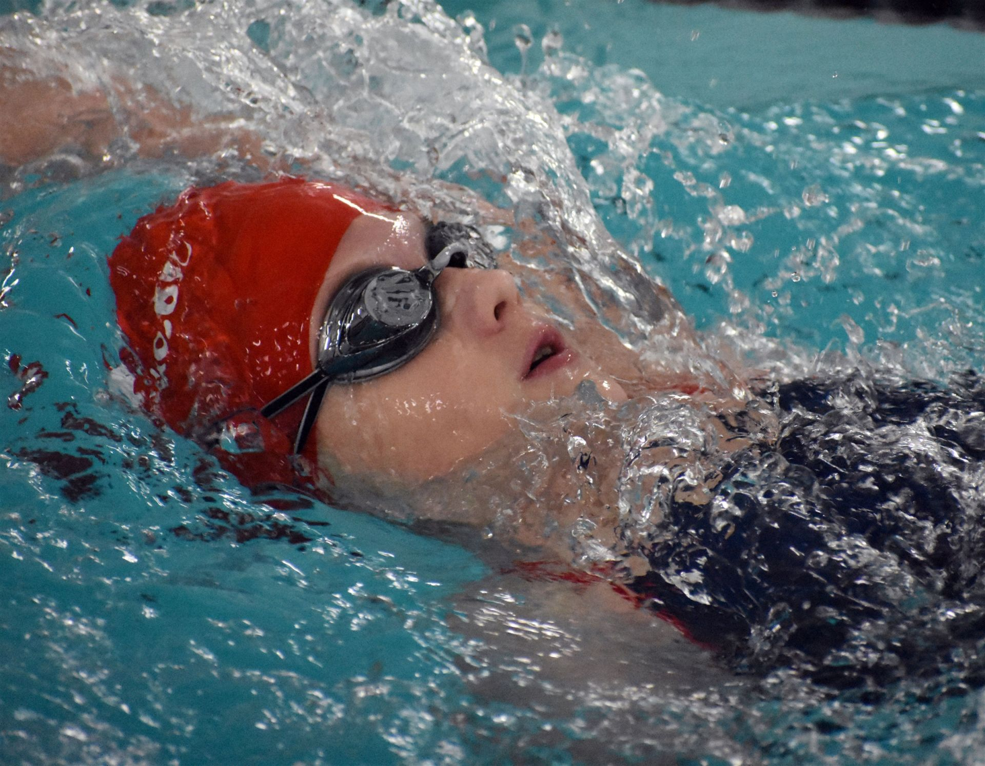 Middle School students compete well as girls swimming wins private school state championships