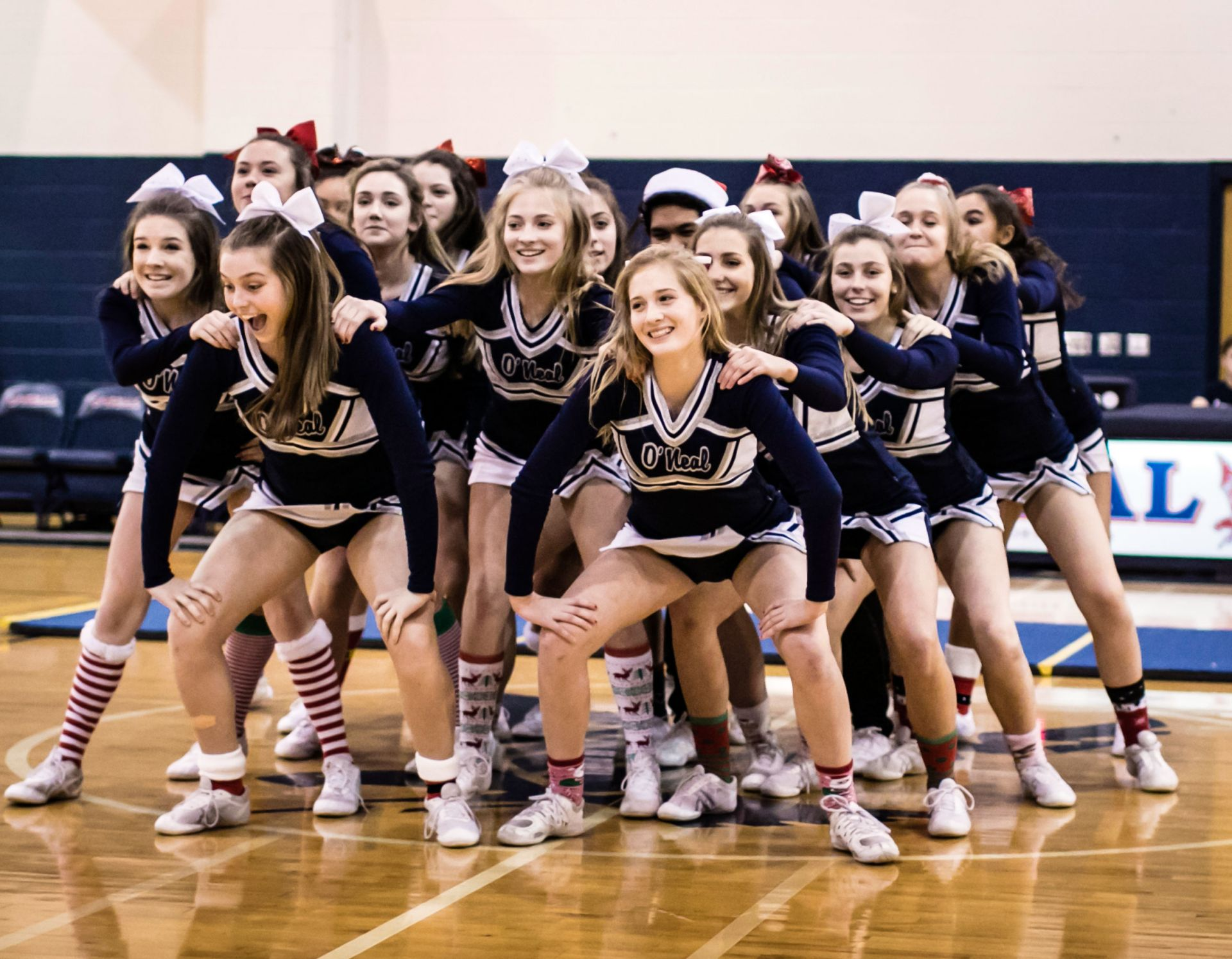 High School and Middle School Cheer Team win Liberty Classic and Fayetteville