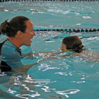 Falcon Swim School has no more than 4 students to one instructor