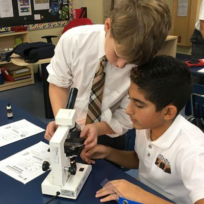 Private School Science program encompasses methods for investigative research