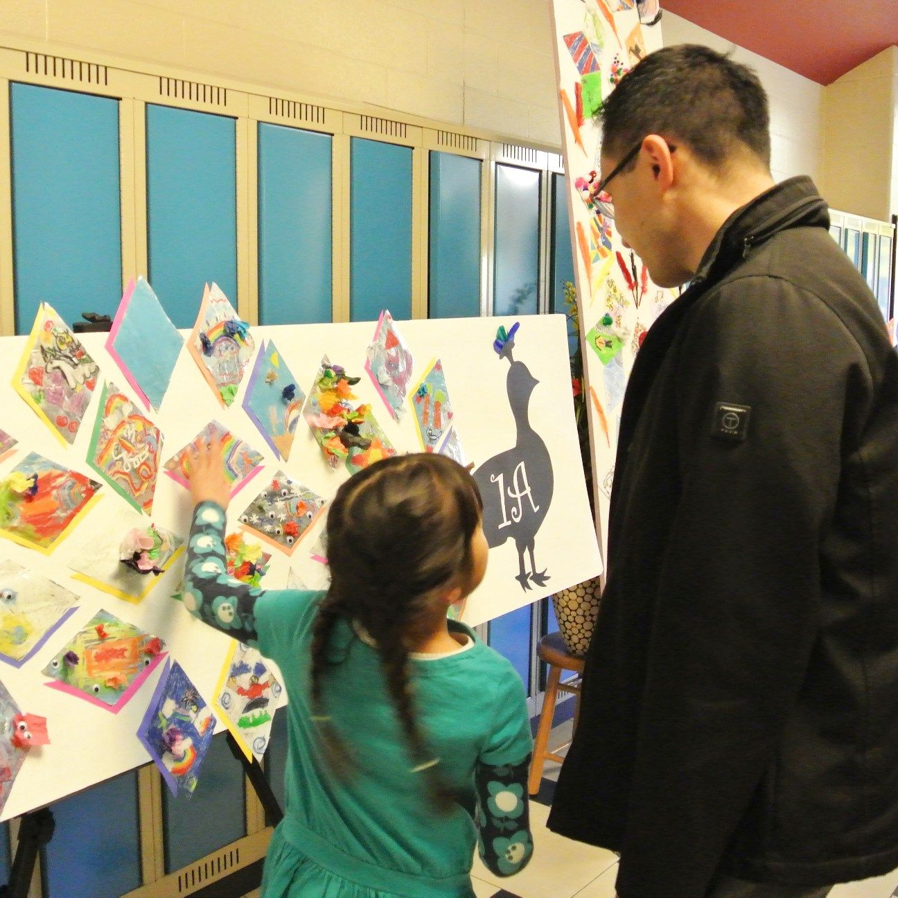 Elementary Private School students showcase work at Art Café as a part of Visual Arts and Drama