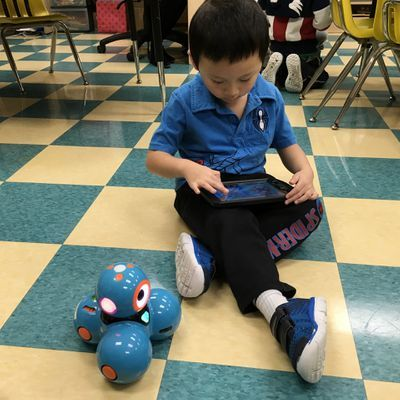 The Science of Coding and Robots at #MontessoriToronto #MontessoriMarkham #MontessoriSchoolNearMe in #GTA