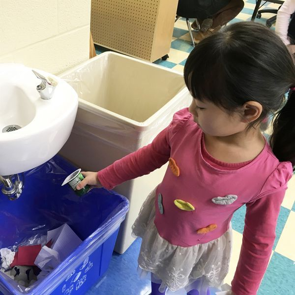 Green Awareness teaches Montessori preschoolers culture and how to recycle materials