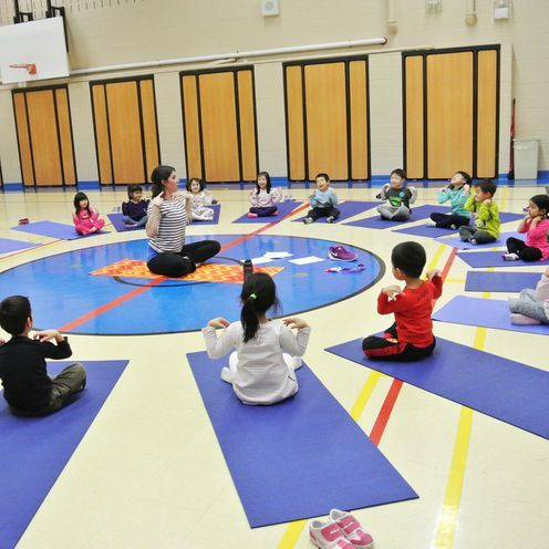 Montessori Junior Physical Education program focuses on importance of fitness and health